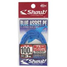 Bas de Ligne Shout! BLUE ASSIST PE 3M 150LBS