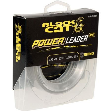 BAS DE LIGNE SILURE BLACK CAT POWER LEADER - 20M