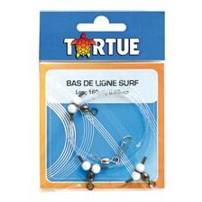 BAS DE LIGNE SURF TORTUE - 1.6M
