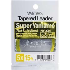 Leaders Varivas TAPERED LEADER NYLON SUPER YAMAME 4X