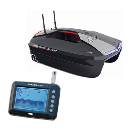 BATEAU AMORCEUR JOYSWAY BAIT 2500 AVEC GPS AUTOPILOT ET ECHOSONDEUR TOLSON TF300