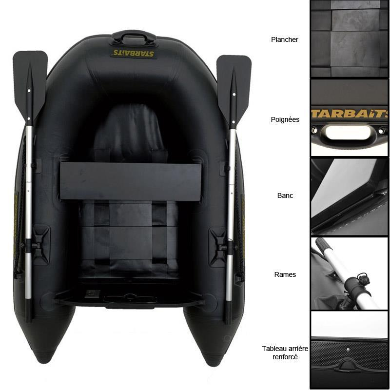 bateau gonflable starbaits freeway 180. Black Bedroom Furniture Sets. Home Design Ideas