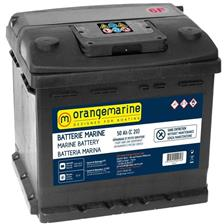 BATTERIE DE DEMARRAGE ORANGE MARINE MARINE
