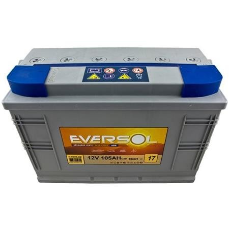 BATTERIE EVERSOL DECHARGE LENTE AGM 12V