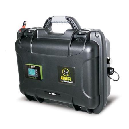 BATTERIE LITHIUM BSR LIFEPO4 24V50 AMP