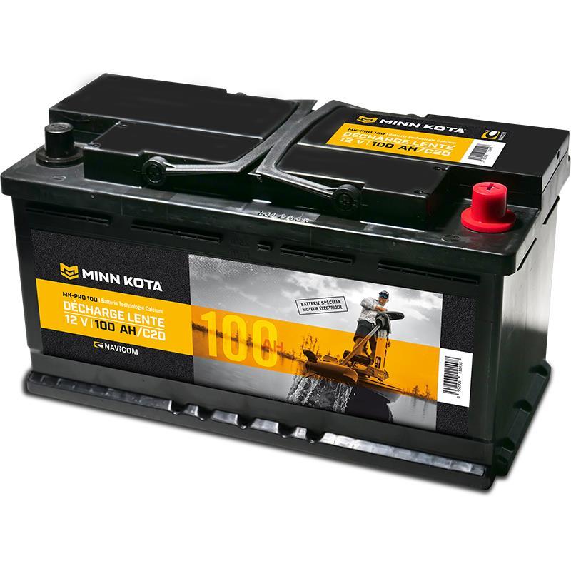 Batterie minn kota pro a decharge lente