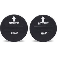 BATTERY OF REPLACEMENT FOR ELECTRONIC COLLAR PETSAFE - PACK OF 2