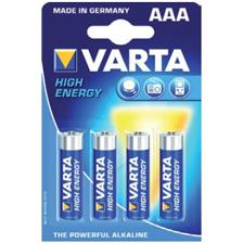 BATTERY VARTA LR03 AAA 1.5V - PACK OF 4