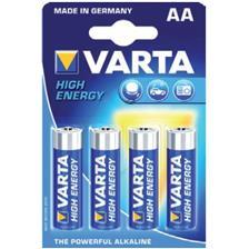 BATTERY VARTA LR06 AA 1.5V - PACK OF 4