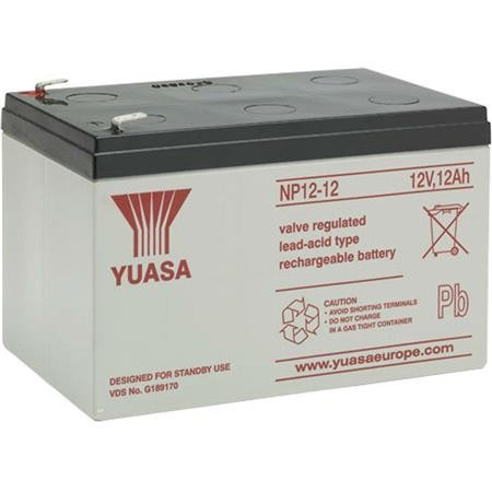 BATTERY WATERPROOF FOR FISHFINDER YUASA 12V