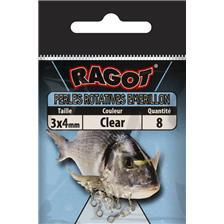 BEAD ROTARY SWIVEL RAGOT - PACK OF 8