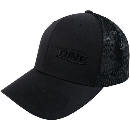 BERRETTO UOMO RIVE FLEXFIT BLACK MESH