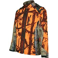 BLOUSON HOMME PERCUSSION PREDATOR SOFTSHELL - GHOST CAMO BLAZE BLACK