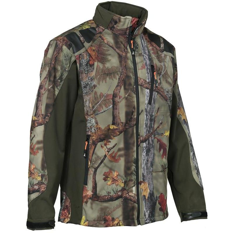 Blouson Homme Forest Camo Ghost Softshell Percussion y0Pmn8NOvw