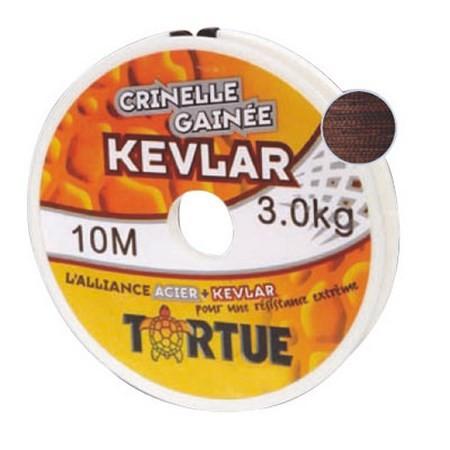 BOBINE CRINELLE GAINEE KEVLAR TORTUE
