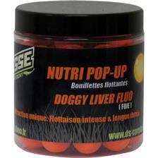 BOILIE SCHWIMMEND DEESSE NUTRI POP UP DOGGY LIVER FLUO ORANGE