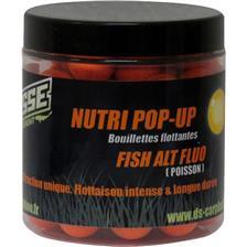 BOILIE SCHWIMMEND DEESSE NUTRI POP UP FISH ALT FLUO ORANGE