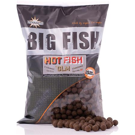 BOILIES DYNAMITE BAITS HOT FISH & GLM