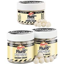 BOILIES FLUTUANTES DYNAMITE BAITS FLURO POP-UPS COCONUT CREAM
