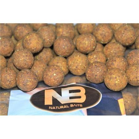 BOILIES NATURAL BAITS CLASSIC - 20KG