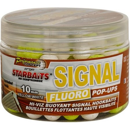 BOILIES  SCHWIMMEND STARBAITS CONCEPT SIGNAL FLUO POP  UP
