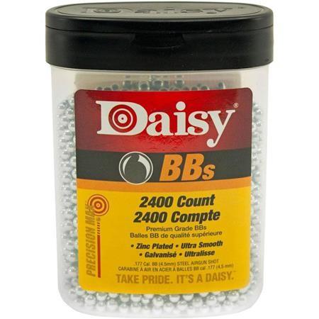 BOITE DE DIABOLOS DAISY BB'S ACIER 4.5MM - PAR 2400
