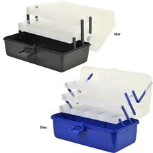 CANTILEVER BOXES NOIR 2 PLATEAUX
