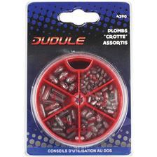 BOITE PLOMBS DUDULE CROTTES SOURIS - 6 CASES