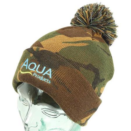 BONNET HOMME AQUA PRODUCTS BOBBLE HAT - CAMO