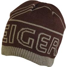 Habillement Eiger LOGO KNITTED HAT WITH FLEECE MARRON OLIVE 47832