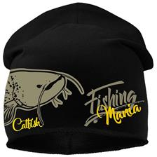 BONNET HOMME HOT SPOT DESIGN CATFISHING MANIA - NOIR