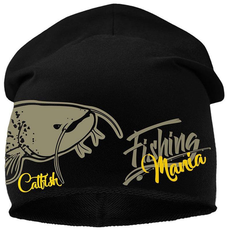 BONNET HOMME HOT SPOT DESIGN CATFISHING MANIA - NOIR - CatFishing