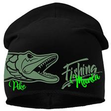 BONNET HOMME HOT SPOT DESIGN PIKE MANIA - NOIR