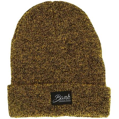 BONNET HOMME STARBAITS BANK TRADITION BEANIE - MOUTARDE