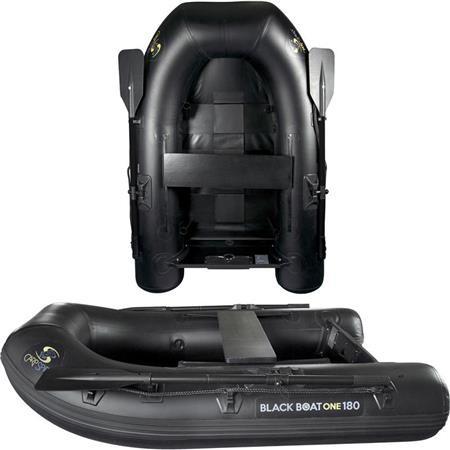 BOTE INFLABLE CARP SPIRIT BLACK BOAT