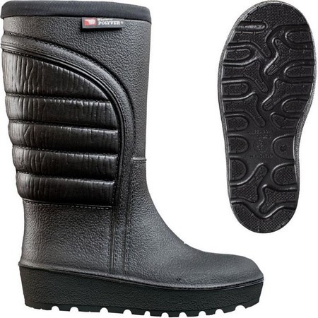 BOTTES HOMME GRAND FROID POLYVER WINTER - NOIR