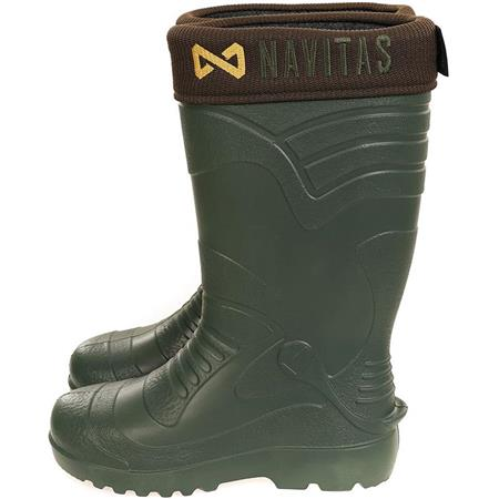 BOTTES HOMME NAVITAS LITE INSULATED WELLY BOOTS - VERT
