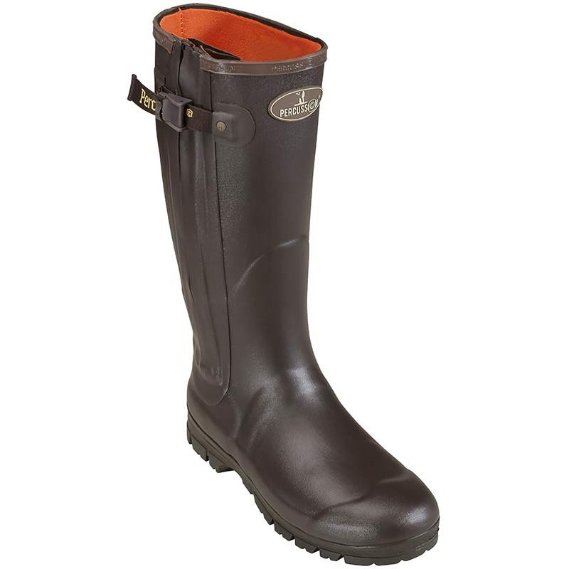 Bottes homme percussion full zip rambouillet