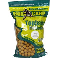 Baits & Additives Big Carp TOPBAITS CHEESE BOMB 24MM 2.5KG