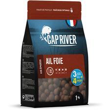 Appâts & Attractants Cap River AIL FOIE BOUILLETTE 14MM 4X5KG
