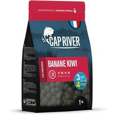 Baits & Additives Cap River BANANE KIWI BOUILLETTE 24MM 4X1KG