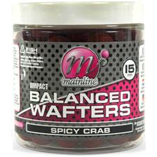 Mainline Baits  HIGH IMPACT BALANCED WAFTERS Peaches & Cream - 15mm