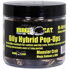 Baits & Additives Big Cat OILY HYBRID POP UPS O 30MM