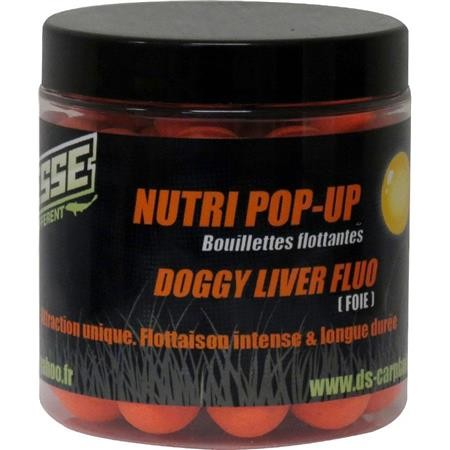 BOUILLETTE FLOTTANTE DEESSE NUTRI POP UP DOGGY LIVER FLUO ORANGE