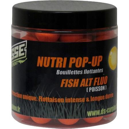 BOUILLETTE FLOTTANTE DEESSE NUTRI POP UP FISH ALT FLUO ORANGE