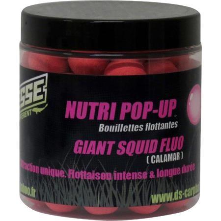 BOUILLETTE FLOTTANTE DEESSE NUTRI POP UP GIANT SQUID FLUO ROSE