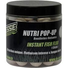 Appâts & Attractants Deesse NUTRI POP UP INSTANT FISH FLUO BLANCHE O 20MM