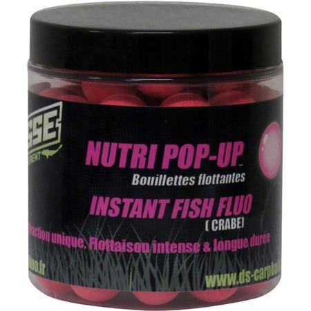 BOUILLETTE FLOTTANTE DEESSE NUTRI POP UP INSTANT FISH FLUO ROSE