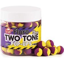 FLURO TWO TONE POP UP PLUM ET PINEAPPLE O 15MM
