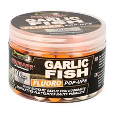 Baits & Additives Star Baits CON GARLIC FISH FLUO POP UP O 14MM